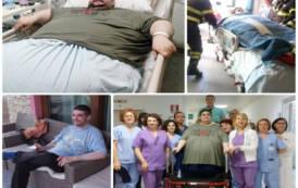 CAGLIARI, L'obesità si può combattere. La storia di Mauro: da 300 chili ad una vita completamente nuova