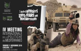 CAGLIARI, Il reporter Micalessin racconta le guerre nel Mediterraneo al IV° Meeting di Assadakah