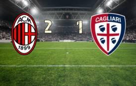 CALCIO, Cagliari sconfitto a San Siro (2-1). Buona prestazione