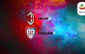 CALCIO, Milan-Cagliari 3-0. Per i rossoblu è notte fonda