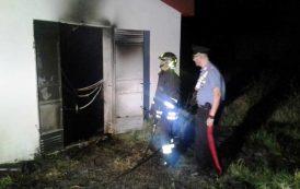 MONASTIR, Attentato incendiario alla ex Scuola di Polizia penitenziaria destinata all'accoglienza per immigrati