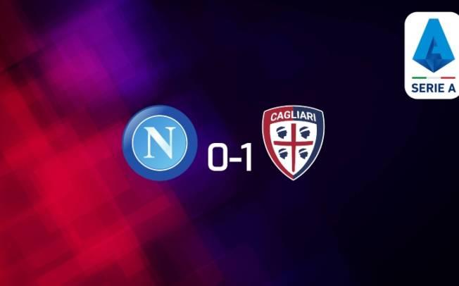 CALCIO, Cagliari espugna Napoli (0-1): vittoria immeritata ma pesantissima