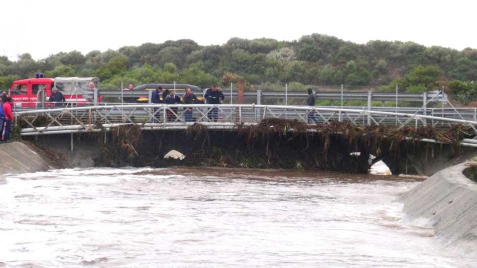 OLBIA,  Dopo l'abbattimento del ponte a Isticadeddu restano in piedi altre ostruzioni (VIDEO)