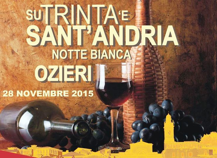 L'ospitalità incondizionata di Ozieri: Su Trinta 'e Sant'Andria (Biancamaria Balata)