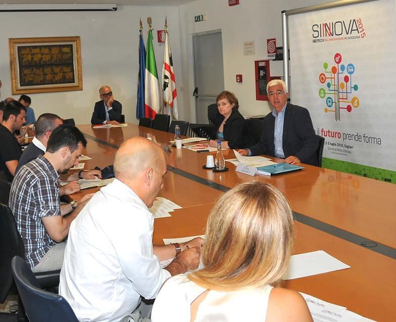 """SINNOVA, Giovedì 2 e venerdì 3 luglio, 3° Salone dell'Innovazione in Sardegna: """"Dove il futuro prende forma"""""""