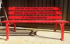 CAGLIARI, 8 marzo: una panchina rossa al Businco contro ogni forma di violenza