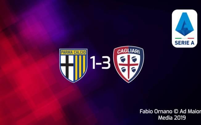 CALCIO, Cagliari: trasferta rocambolesca e vincente. A Parma è 3-1