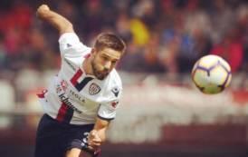 """CALCIO, Pavoletti: """"Calo fisico con l'Udinese. Un anno fantastico"""""""