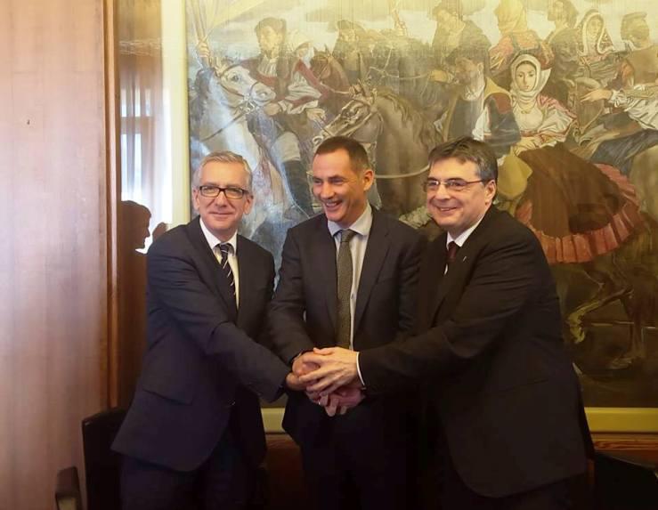 """REGIONE, Incontro Sardegna-Corsica. Pigliaru: """"Ragioniamo insieme come macroregione d'Europa"""""""