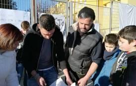 """PIMENTEL, I bambini si affiancano alla protesta: """"Io sto con i pastori sardi"""""""