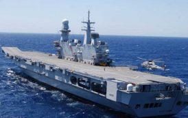 Visita alla Portaerei Cavour al Porto di Cagliari: a bordo molta Italia e poco italiano (Claudio Susmel)