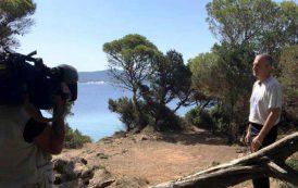 """AMBIENTE, Le telecamere di """"Linea Verde Orizzonti"""" (Rai1) nelle dune e nei siti naturali di Porto Pino"""