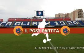 CALCIO, Napoli-Cagliari: il post partita. Rastelli, Romagna e Dessena