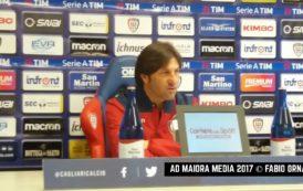 """CALCIO, Tutto esaurito per Cagliari-Inter. Rastelli: """"Proseguire con le ultime buone prove. Pisacane è sereno, giocherà"""""""