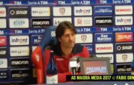 """CALCIO, Rastelli prima di Cagliari-Juventus: """"Devo decidere chi affiancare a Sau. Attenzione e compattezza per fare risultato"""""""
