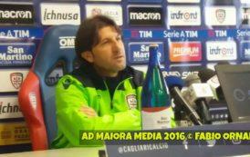 """CALCIO, Il resoconto della settimana rossoblu. Rastelli: """"Napoli al top, ma ce la giocheremo"""""""