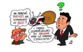 MIRABILIA, Renzi snobba il 'treno veloce' dell'ex assessore Deiana