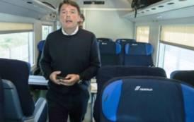 In Sardegna Renzi abbandona il 'sogno' del treno: viaggiare è un 'incubo' (Biancamaria Balata)