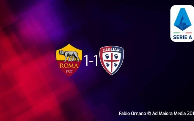 CALCIO, Cagliari sofferente ma ancora imbattuto: 1-1 in casa della Roma