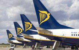 TRASPORTI, Ryanair annuncia programmazione estate 2017 da Cagliari: sei nuove destinazioni