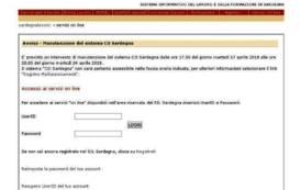 LAVORO, Dal 17 aprile interrotto il servizio del Sistema Informativo del Lavoro (SIL)