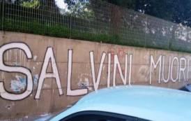 CAESAR, Sui muri di Cagliari minacce di morte al ministro Salvini, ma i 'democratici' tacciono