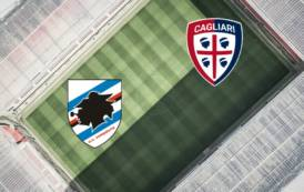 CALCIO, Baratro a vista per il Cagliari. La Sampdoria vince facile (4-1)