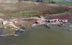 AMBIENTE, Deposito abusivo di rifiuti, anche pericolosi: sequestrata area di 6.000 mq in zona protetta a Santa Gilla