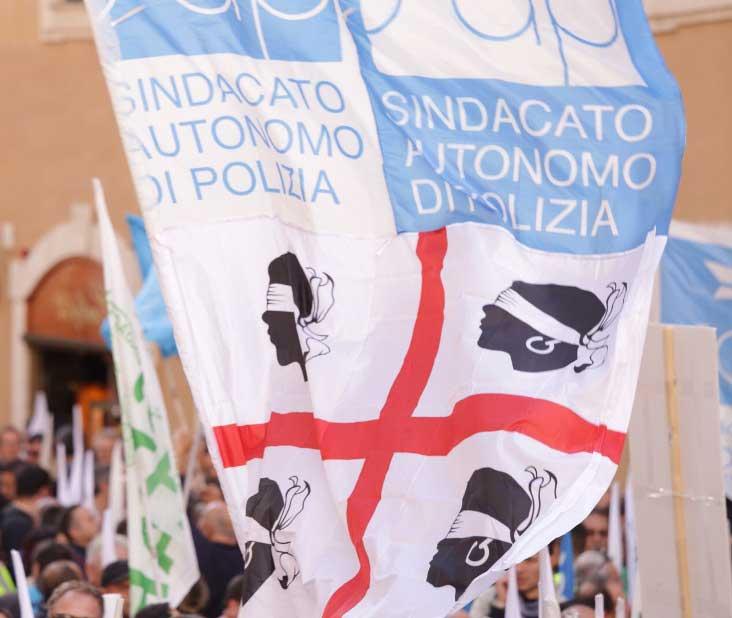 Nonostante il malore di Tonelli, la battaglia per la sicurezza non si ferma (Luca Agati – Sap Cagliari)