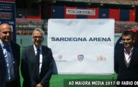 """CALCIO, La nascita della """"Sardegna Arena"""" (GALLERIA FOTOGRAFICA)"""