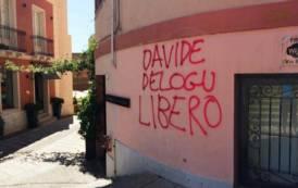 Cagliari sfregiata da scritte anarchiche e antifasciste: i vandali agiscono impuniti (Salvatore Deidda e Michele Pisano)
