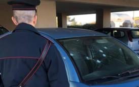 SELARGIUS, Colpo di fucile contro l'auto di una donna