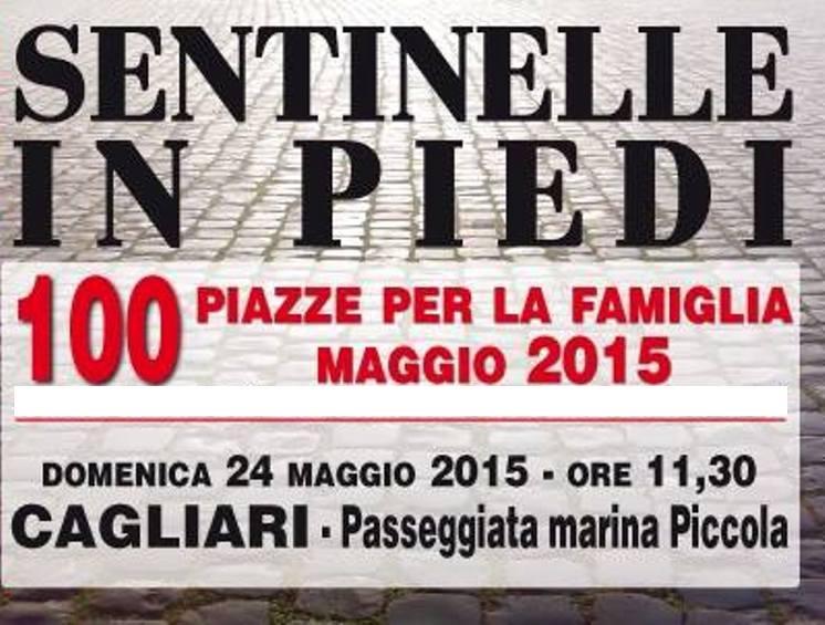 Con le Sentinelle in Piedi per la famiglia: domenica 24 maggio a Marina Piccola (Emilio Ghiani)