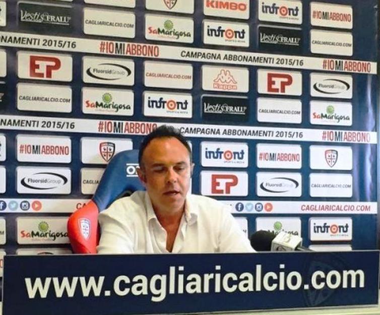 """CALCIO, SignorellI (Cagliari Calcio): """"Per il nuovo stadio, 50 milioni di investimento. Ad Asseminello un nuovo campo in sintetico"""""""