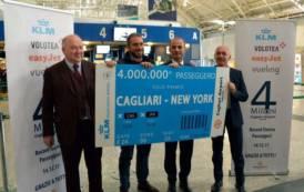 CAGLIARI, Record storico all'Aeroporto: 4 milioni di passeggeri nel 2017. Premiato ingegnere salernitano