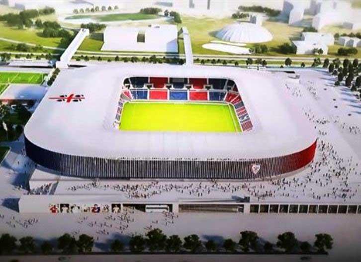 CAGLIARI, Aumento capienza del nuovo stadio influirà sui tempi di realizzazione?