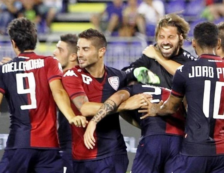 CALCIO, In Coppa Italia il Cagliari passa il turno ai rigori (5-3) contro il Trapani con Storari protagonista tra i pali