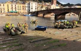 BOSA, Addestramento della Brigata Sassari nel fiume Temo per rischio alluvioni