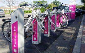 CAGLIARI, Da marzo alcune biciclette del 'bike sharing' senza ruote e sellino al Parco di Terramaini
