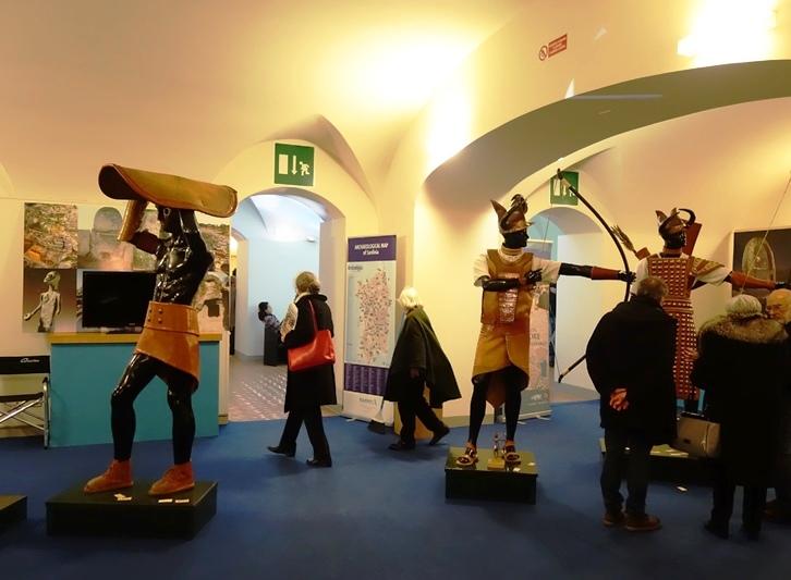 TURISMO, Successo del padiglione Sardegna al Salone internazionale dell'archeologia