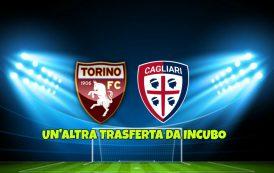 CALCIO, Sonora batosta sotto la pioggia per il Cagliari a Torino (5-1): un'altra trasferta da incubo