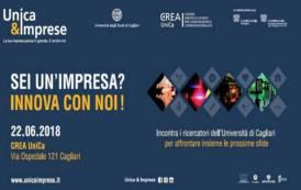 """CAGLIARI, Venerdì 22 giugno """"Unica&Imprese"""": il filo rosso che unisce ricercatori dell'Università ed imprese"""