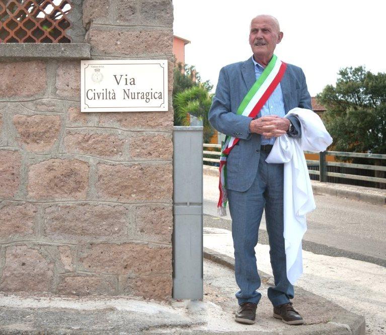 """URI, Inaugurata la prima via dedicata alla Civiltà Nuragica. Sindaco Galzerano: """"Gesto simbolico, ma di grande rilevanza storica"""""""