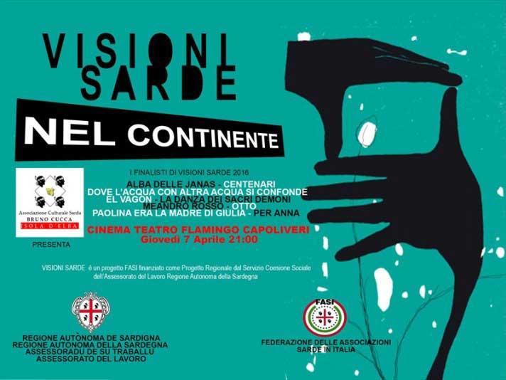 """Parte dall'Elba """"Visioni Sarde"""", rassegna del cinema 'made in Sardegna' (Cristina Cucca)"""