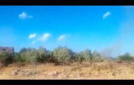 Il VIDEO dell'incendio di Castiadas