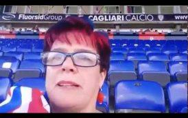 """CALCIO, Il Cagliari visto dalla supertifosa Milena: """"Non toccate la mia squadra"""" (VIDEO)"""