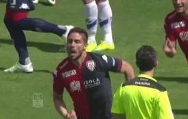Le azioni principali ed i gol di Cagliari-Brescia